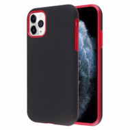 Fuse Slim Armor Hybrid Case for iPhone 11 Pro - Black Red