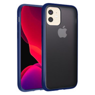 Frost Semi Transparent Hybrid Case for iPhone 11 Pro - Navy Blue