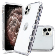 Military Grade Certified TUFF Lucid Transparent Hybrid Armor Case for iPhone 11 Pro Max - Clear