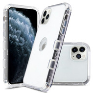 Military Grade Certified TUFF Lucid Transparent Hybrid Armor Case for iPhone 11 Pro - Clear