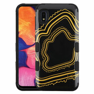 Military Grade Certified TUFF Hybrid Armor Case for Samsung Galaxy A10e - Agate Gold