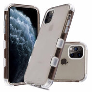 Military Grade Certified TUFF Lucid Transparent Hybrid Armor Case for iPhone 11 Pro - Smoke