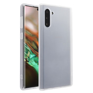 Frost Semi Transparent Hybrid Case for Samsung Galaxy Note 10 - White