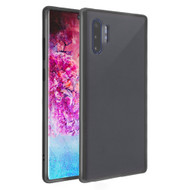 Frost Semi Transparent Hybrid Case for Samsung Galaxy Note 10 Plus - Black