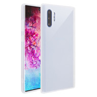 Frost Semi Transparent Hybrid Case for Samsung Galaxy Note 10 Plus - White