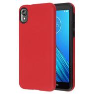 Fuse Slim Armor Hybrid Case for Motorola Moto E6 - Red