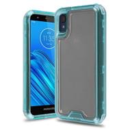 Atomic Tough Hybrid Case for Motorola Moto E6 - Baby Blue