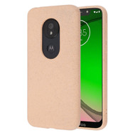 Eco Friendly Protective Case for Motorola Moto G7 Play - Melon Pink
