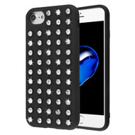 Dazzling Diamond TPU Case for iPhone 8 / 7 / 6S / 6 - Black