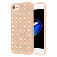 Dazzling Diamond TPU Case for iPhone 8 / 7 / 6S / 6 - Rose Gold