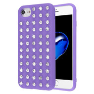 Dazzling Diamond TPU Case for iPhone 8 / 7 / 6S / 6 - Purple