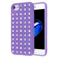 Dazzling Diamond TPU Case for iPhone 8 / 7 / 6S / 6 - Purple