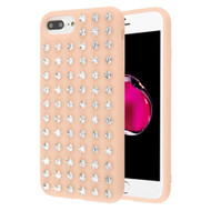 Dazzling Diamond TPU Case for iPhone 8 Plus / 7 Plus / 6S Plus / 6 Plus - Rose Gold