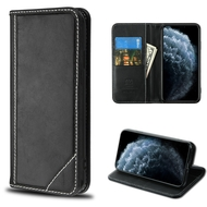 Mybat Genuine Leather Wallet Case for iPhone 11 Pro - Black