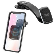 Magnetic Dashboard Mount Cell Phone Holder - Black