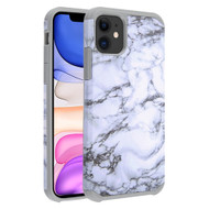 Hybrid Multi-Layer Armor Case for iPhone 11 - Marble White