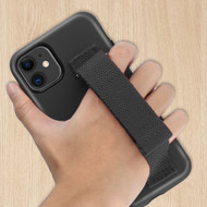 Fuse Slim Armor Hybrid Case with Integrated Hand Strap for iPhone 11 - Black