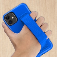 Fuse Slim Armor Hybrid Case with Integrated Hand Strap for iPhone 11 - Blue