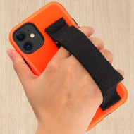 Fuse Slim Armor Hybrid Case with Integrated Hand Strap for iPhone 11 - Orange