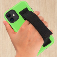 Fuse Slim Armor Hybrid Case with Integrated Hand Strap for iPhone 11 - Green