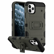 *Sale* Military Grade Certified Storm Tank Hybrid Armor Case with Stand for iPhone 11 Pro - Dark Grey