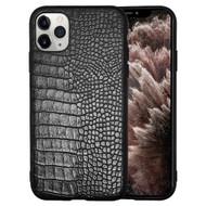 *Sale* Executive Slim Shield Fusion Case for iPhone 11 Pro Max - Crocodile Black