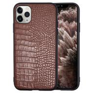 *Sale* Executive Slim Shield Fusion Case for iPhone 11 Pro Max - Crocodile Brown