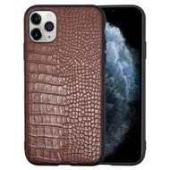*Sale* Executive Slim Shield Fusion Case for iPhone 11 Pro - Crocodile Brown