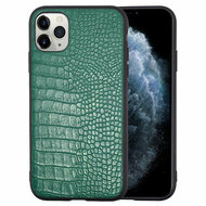 *Sale* Executive Slim Shield Fusion Case for iPhone 11 Pro - Crocodile Green