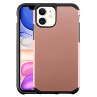 Hybrid Multi-Layer Armor Case for iPhone 11 - Rose Gold