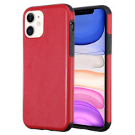 Executive Slim Shield Fusion Case for iPhone 11 - Red