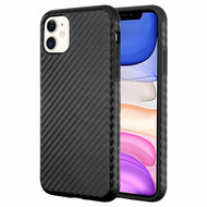 Executive Slim Shield Fusion Case for iPhone 11 - Carbon Fiber Black