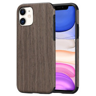Timberwood Executive Slim Shield Fusion Case for iPhone 11 - Walnut