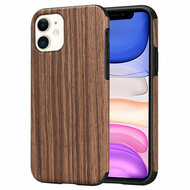 Timberwood Executive Slim Shield Fusion Case for iPhone 11 - Sandalwood