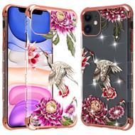 TUFF Klarity Lux Diamond Transparent TPU Case for iPhone 11 - Crane
