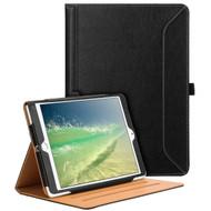 Slim Folding Smart Leather Folio Stand Case with Auto Wake / Sleep for iPad Air 3 / Pro 10.5 inch - Black