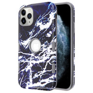 *Sale* TUFF Subs Hybrid Armor Case for iPhone 11 Pro - Marble Dark Blue White