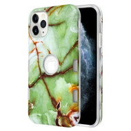 TUFF Subs Hybrid Armor Case for iPhone 11 Pro - Marble Green
