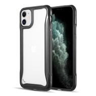 Air Armor Transparent Fusion Case for iPhone 11 - Black