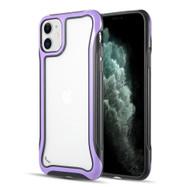 Air Armor Transparent Fusion Case for iPhone 11 - Purple