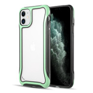 Air Armor Transparent Fusion Case for iPhone 11 - Mint Green
