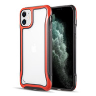 Air Armor Transparent Fusion Case for iPhone 11 - Red