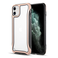 Air Armor Transparent Fusion Case for iPhone 11 - Rose Gold