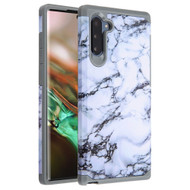 Hybrid Multi-Layer Armor Case for Samsung Galaxy Note 10 - Marble White