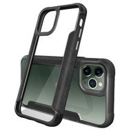 *Sale* Transparent Shield Hybrid Armor Case for iPhone 11 Pro Max - Black