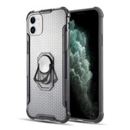 *Sale* ShieldTech Transparent Case with 360° Rotating Ring Holder for iPhone 11 - Grey