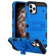 *Sale* Military Grade Certified Storm Tank Hybrid Armor Case with Stand for iPhone 11 Pro Max - Blue
