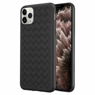 *Sale* Woven Designer Ultra Soft TPU Case for iPhone 11 Pro Max - Black
