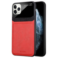 *Sale* CameraShield Leather-Style Case with Plexiglass Lens Protection for iPhone 11 Pro - Red