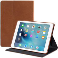 Sena Vettra 360 Genuine Leather Folio Case for iPad Mini (1st/2nd/3rd Generation) - Brown